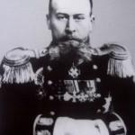 Николай Михайлович Бухвостов, флотский офицер, капитан 1 ранга, командир броненосца «Император Александр III»